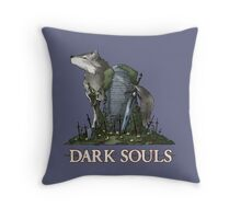 The Great Grey Wolf Sif Throw Pillow