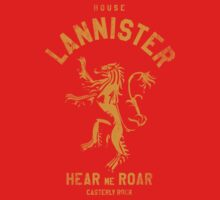 HOUSE LANNISTER 1 Kids Clothes