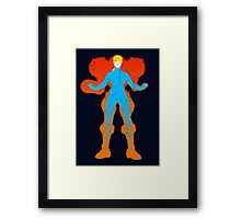 The Girl in the Suit Framed Print