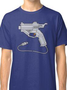 Dreamcast Light Gun (On Blue) Classic T-Shirt