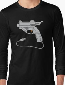 Dreamcast Light Gun (On Blue) Long Sleeve T-Shirt