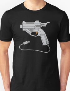 Dreamcast Light Gun (On Blue) Unisex T-Shirt