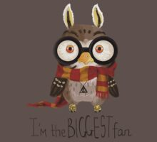 Small owlet - Biggest HP fan Kids Clothes