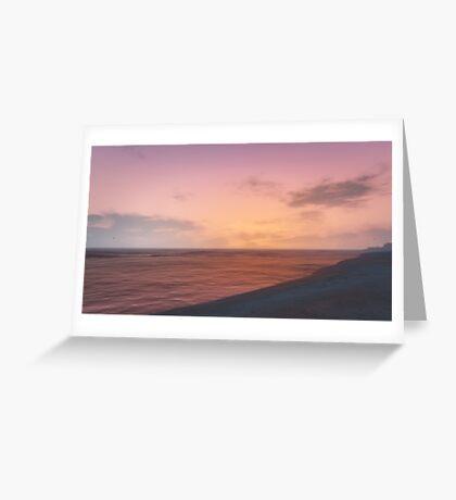 GTA V Sunset Greeting Card