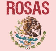 Rosas Surname Mexican Kids Clothes