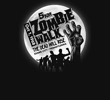 Zombie Walk - White Unisex T-Shirt