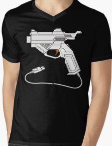 Dreamcast Light Gun Mens V-Neck T-Shirt
