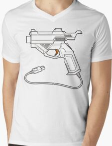 Dreamcast Light Gun Mens V-Neck T-Shirt