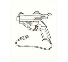 Dreamcast Light Gun Art Print