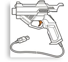 Dreamcast Light Gun Canvas Print