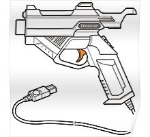Dreamcast Light Gun Poster