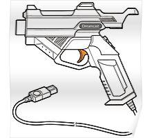 Dreamcast Light Gun Poster