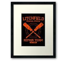 Litchfield Repair Team Framed Print