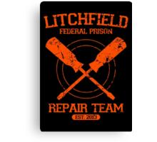 Litchfield Repair Team Canvas Print