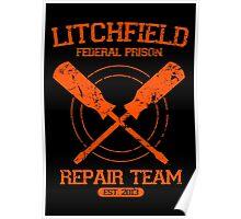 Litchfield Repair Team Poster