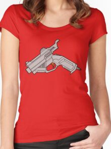 Dreamcast Packing Heat Women's Fitted Scoop T-Shirt