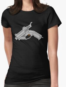 Dreamcast Packing Heat Womens Fitted T-Shirt