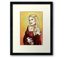 Queen Regent Framed Print
