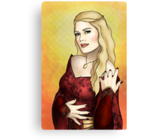 Queen Regent Canvas Print
