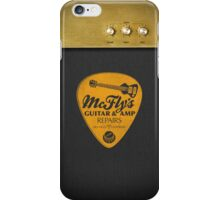 McFly's Repairs - Orange iPhone Case/Skin