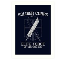 Soldier Corps Art Print