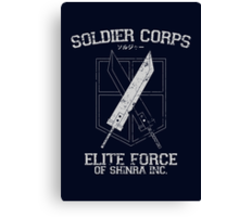 Soldier Corps Canvas Print