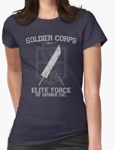 Soldier Corps Womens Fitted T-Shirt