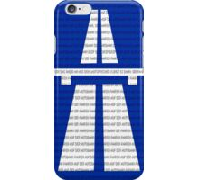 Autobahn iPhone Case/Skin