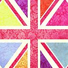 Pink Union Jack II by Claire Elford