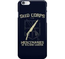 SeeD Corps iPhone Case/Skin
