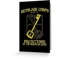 Keyblade Corps Greeting Card