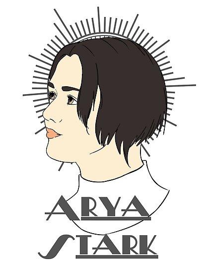 Arya Stark by CatAstrophe