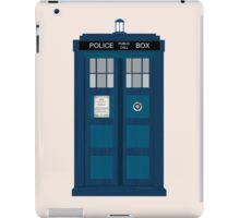 A Big Blue Box iPad Case/Skin