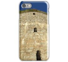 Old tower against the blue sky iPhone Case/Skin