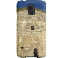 Old tower against the blue sky Samsung Galaxy Case/Skin