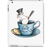Tea Cup Mouse in Tophat iPad Case/Skin