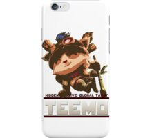 Global Taunt: Teemo. iPhone Case/Skin