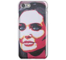 Portrait  of a tough woman iPhone Case/Skin