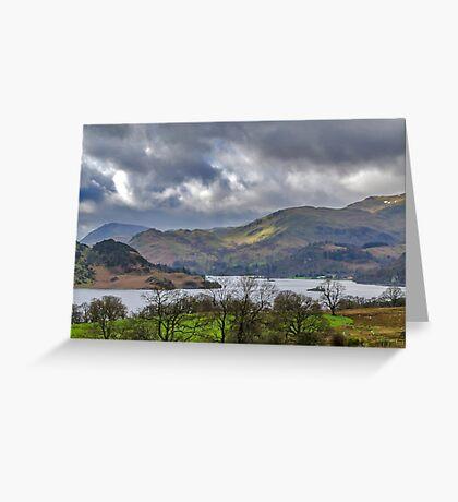 Ullswater Lake District Greeting Card