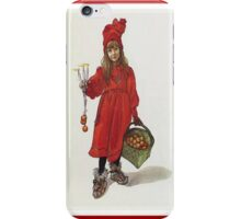 Peace, Love and Hope at Christmas Greeting Card iPhone Case/Skin
