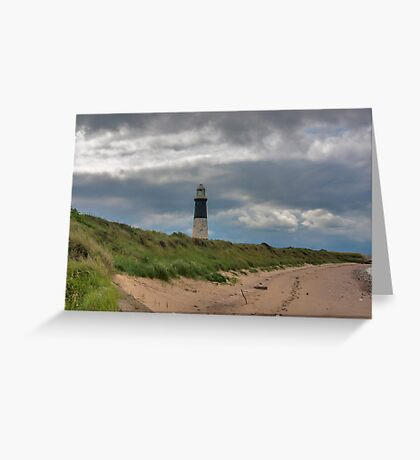 Spurn Point Lighthouse Greeting Card