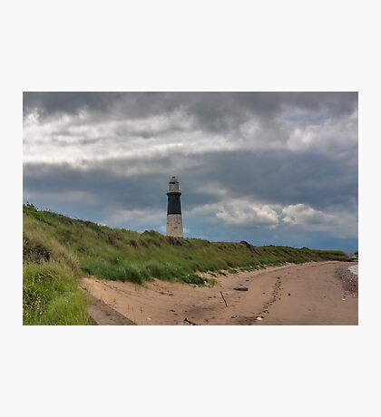 Spurn Point Lighthouse Photographic Print