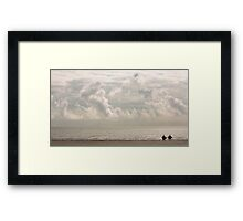 Cloudy Skies Framed Print