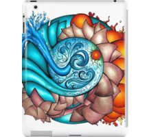 earth, wind, water and fire iPad Case/Skin