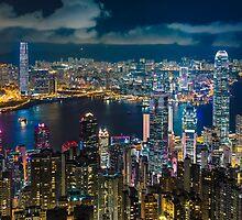 HONG KONG 10 by Tom Uhlenberg