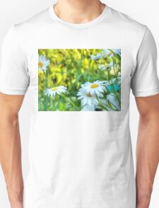 Daisy in the Garden 2 Unisex T-Shirt