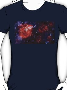 Fairy dust on night roses T-Shirt