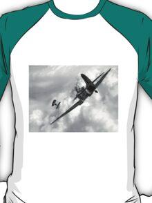 Spitfire VS Tie Fighter T-Shirt