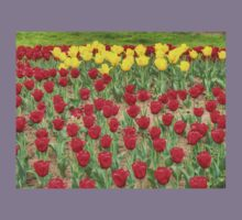 Lots of Red Tulips 2 Kids Clothes