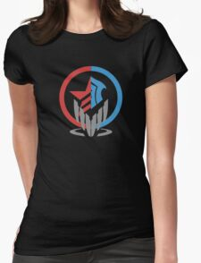 duality of a spectre Womens Fitted T-Shirt